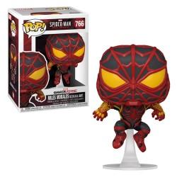 POP SPIDERMAN 766 MILES MORALES STRIKE SUIT - Figurines POP au prix de 14,95€