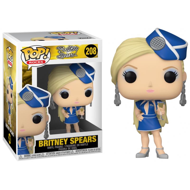 POP BRITNEY SPEARS 208 BRITNEY STEWARDESS - Figurines POP au prix de 14,95€