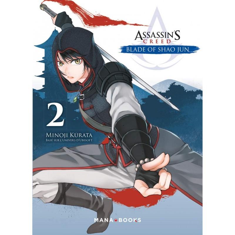 ASSASSINS CREED BLADE OF SHAO JUN T02 - Manga au prix de 7,90€