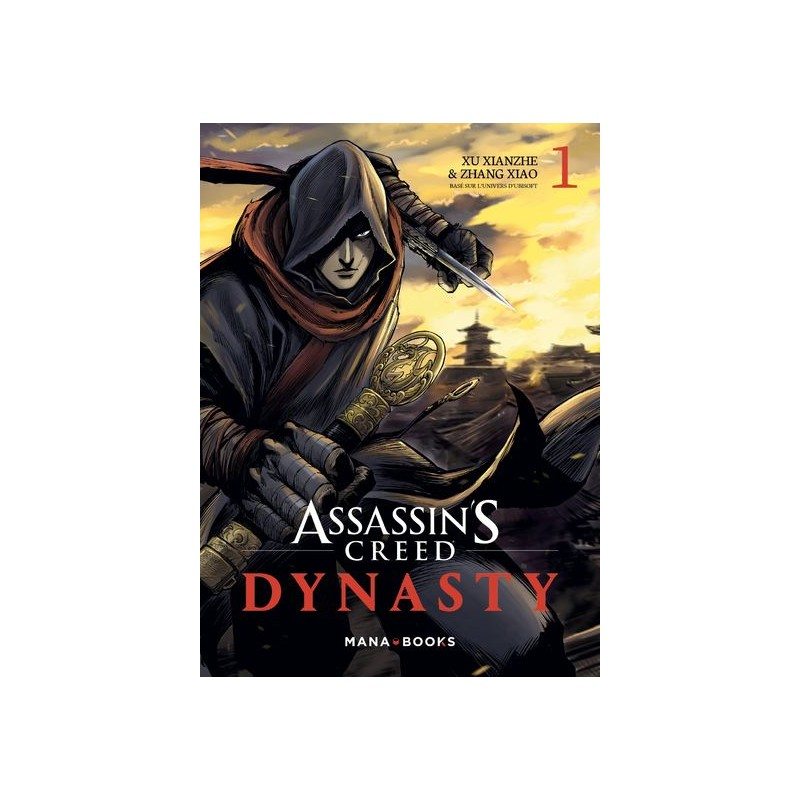 ASSASSINS CREED DYNASTY T01 - Manga au prix de 9,65€