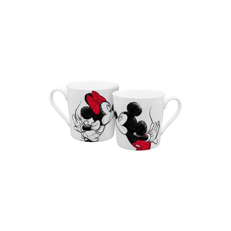 MUG DISNEY MICKEY KISS SKETCH - Mugs au prix de 9,95€