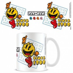 MUG PAC MAN SINCE 1980 - Mugs au prix de 9,95€