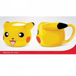 MUG POKEMON 3D PIKACHU 320ML - Mugs au prix de 12,95 €