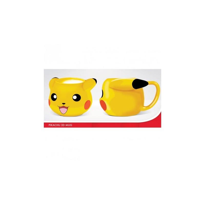 MUG POKEMON 3D PIKACHU 320ML - Mugs au prix de 12,95€