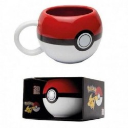 MUG POKEMON 3D POKEBALL 320ML - Mugs au prix de 12,95€