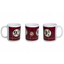 MUG HARRY POTTER PLATEFORM 9 34 315ML - Mugs au prix de 9,95€