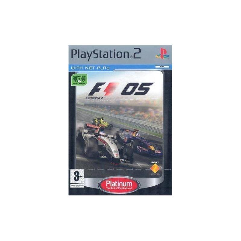PS2 FORMULA ONE 2005 (PLATINUM) - Jeux PS2 au prix de 0,95€