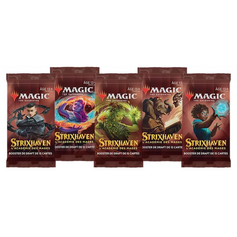 BOOSTER MAGIC THE GATHERING STRIXHAVEN ACADEMIE DES MAGES - Cartes à collectionner ou jouer au prix de 3,90€