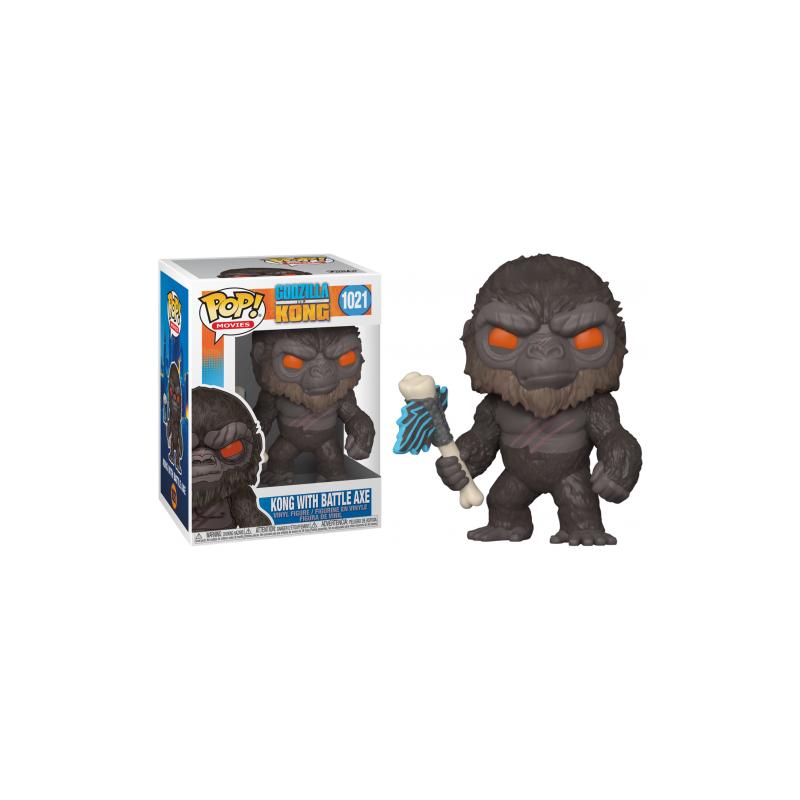 POP GODZILLA VS KONG 1021 KONG WITCH BATTLE AXE - Figurines POP au prix de 14,95€