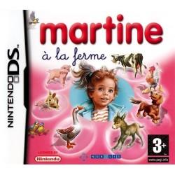 DS MARTINE A LA FERME - Jeux DS au prix de 6,95€