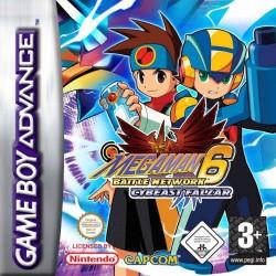 GA MEGAMAN 6 BATTLE NETWORK CYBEAST FALZAR - Jeux Game Boy Advance au prix de 49,95€