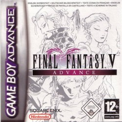 GA FINAL FANTASY V EN BOITE - Jeux Game Boy Advance au prix de 99,95 €