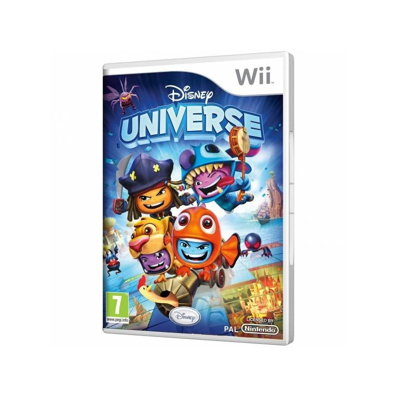 WII DISNEY UNIVERSE - Jeux Wii au prix de 9,95€