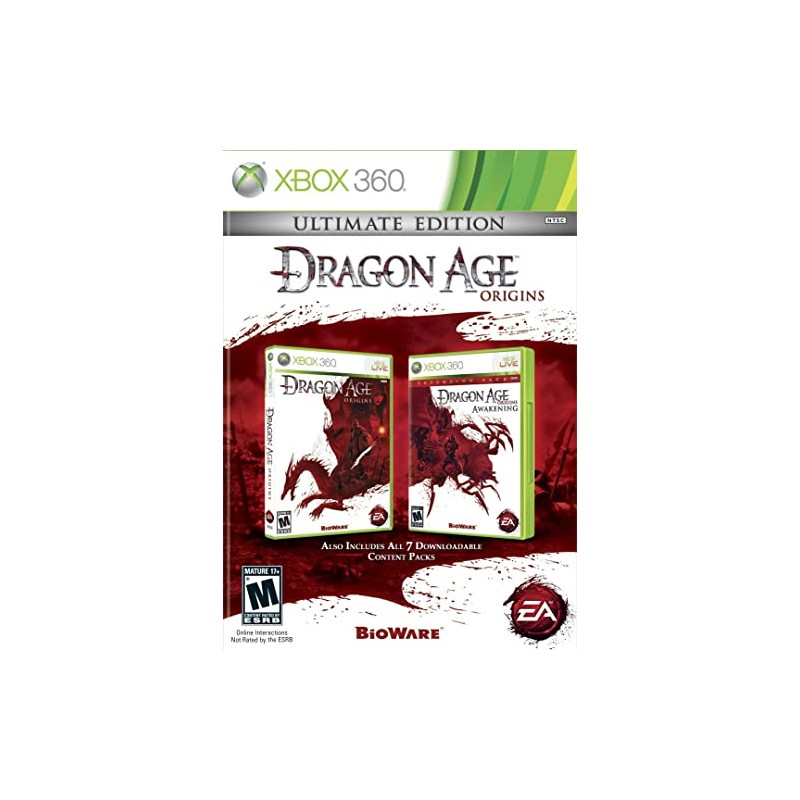X360 DRAGON AGE ORIGINS ULTIMATE EDITION - Jeux Xbox 360 au prix de 0,00€