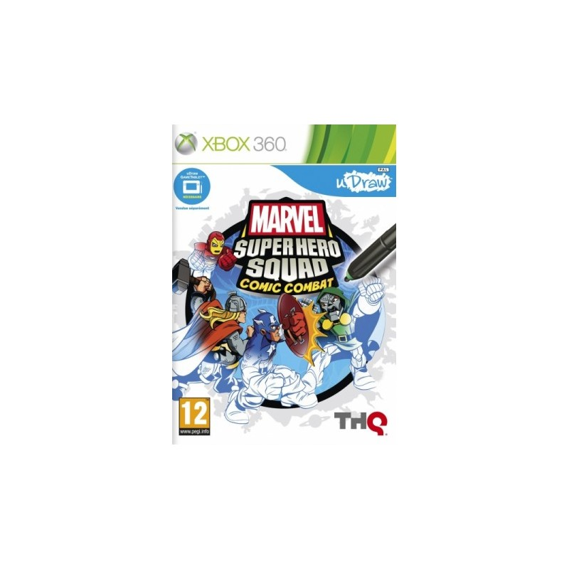 X360 MARVEL SUPER HERO SQUAD COMIC COMBAT - Jeux Xbox 360 au prix de 19,95€