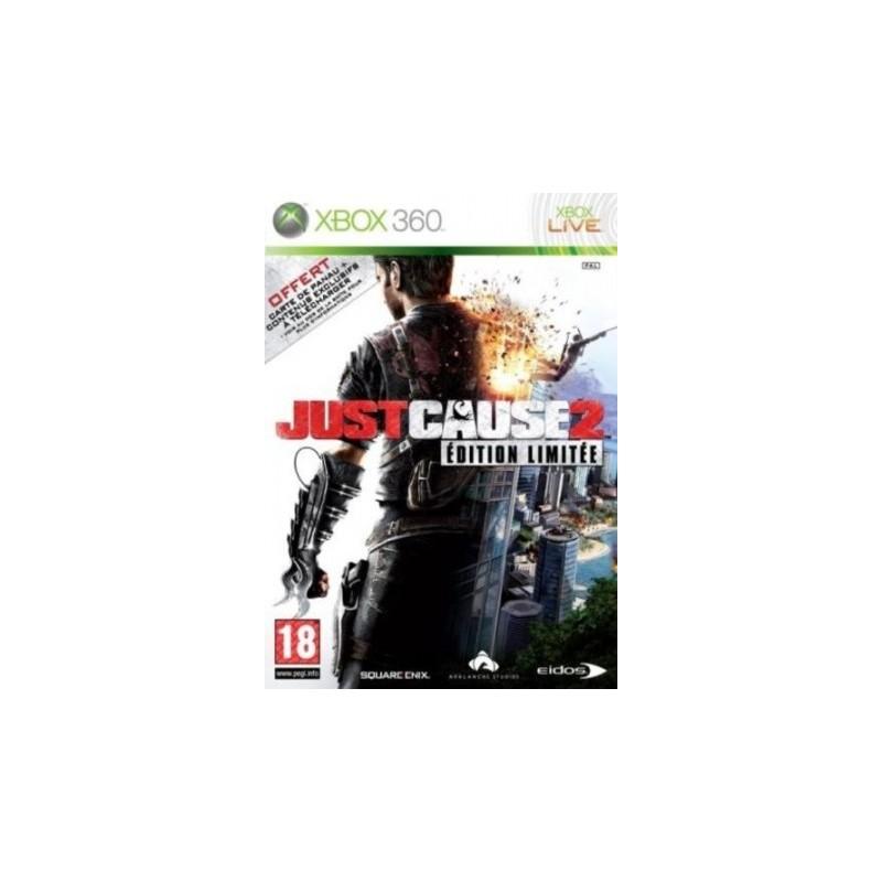 X360 JUST CAUSE 2 EDITION LIMITE - Jeux Xbox 360 au prix de 19,95€