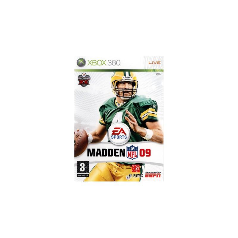 X360 MADDEN 2009 - Jeux Xbox 360 au prix de 12,95€