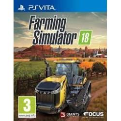 PSV FARMING SIMULATOR 18 - Jeux PS Vita au prix de 14,95€