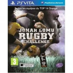 PSV JONAH LOMU RUGBY CHALLENGE - Jeux PS Vita au prix de 34,95€