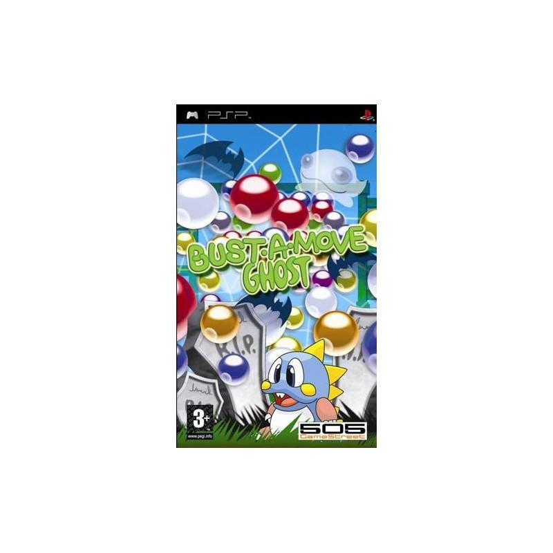 PSP BUST A MOVE GHOST - Jeux PSP au prix de 9,95€