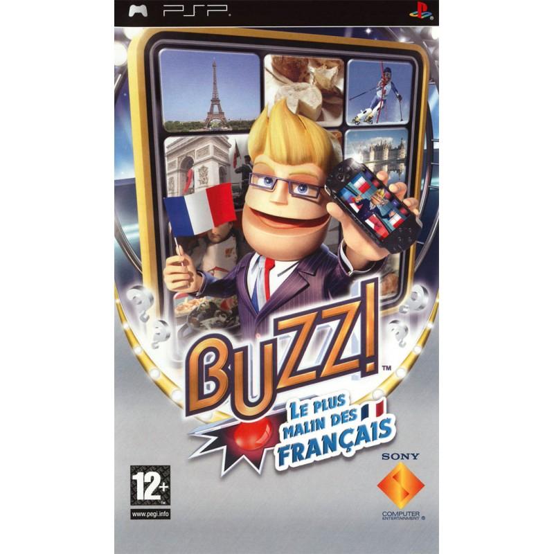 PSP BUZZ PLUS MALIN DES FRANCAIS - Jeux PSP au prix de 3,95€