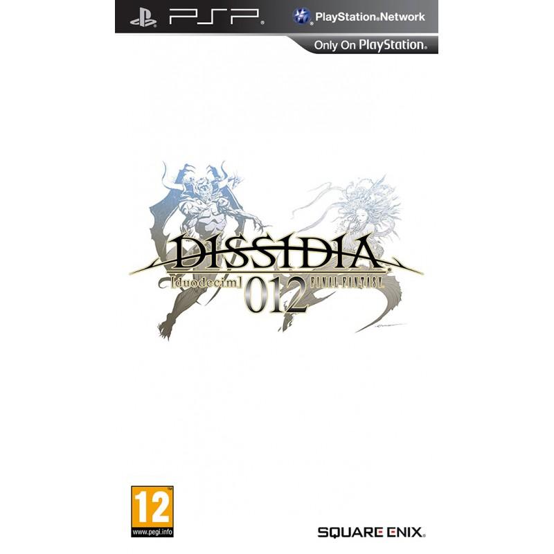 PSP DISSIDIA 012 DUODECIM FINAL FANTASY - Jeux PSP au prix de 11,95€