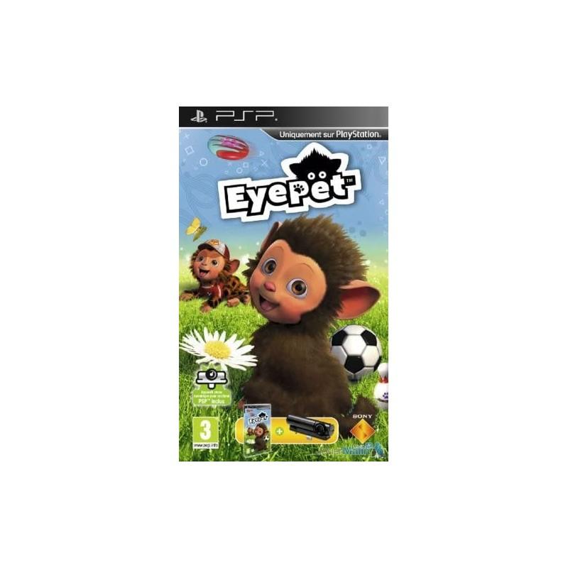 PSP EYEPET ET CAMERA - Jeux PSP au prix de 0,00€