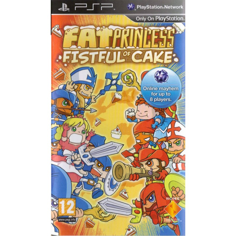 PSP FAT PRINCESS FISTFULL OF CAKE - Jeux PSP au prix de 7,95€
