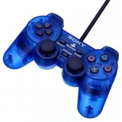 MANETTE PS2 OFF BLEUE - Accessoires PS2 au prix de 14,95€