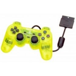 MANETTE PS2 OFF JAUNE - Accessoires PS2 au prix de 14,95€