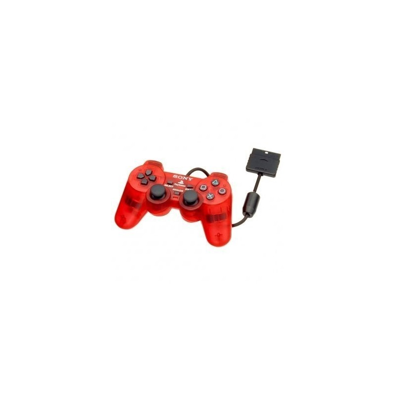 MANETTE PS2 OFF ROUGE - Accessoires PS2 au prix de 14,95€