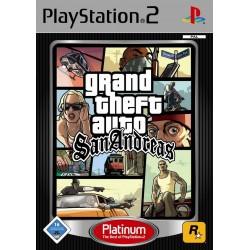 PS2 GTA SAN ANDREAS (PLATINUM) - Jeux PS2 au prix de 5,95€