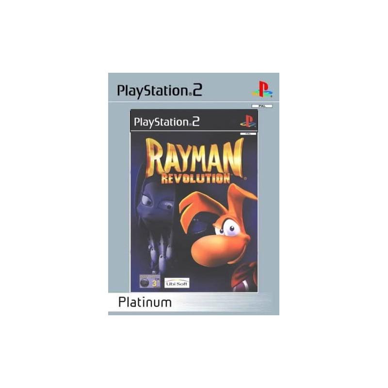 PS2 RAYMAN 2 REVOLUTION PLATINUM - Jeux PS2 au prix de 7,95€