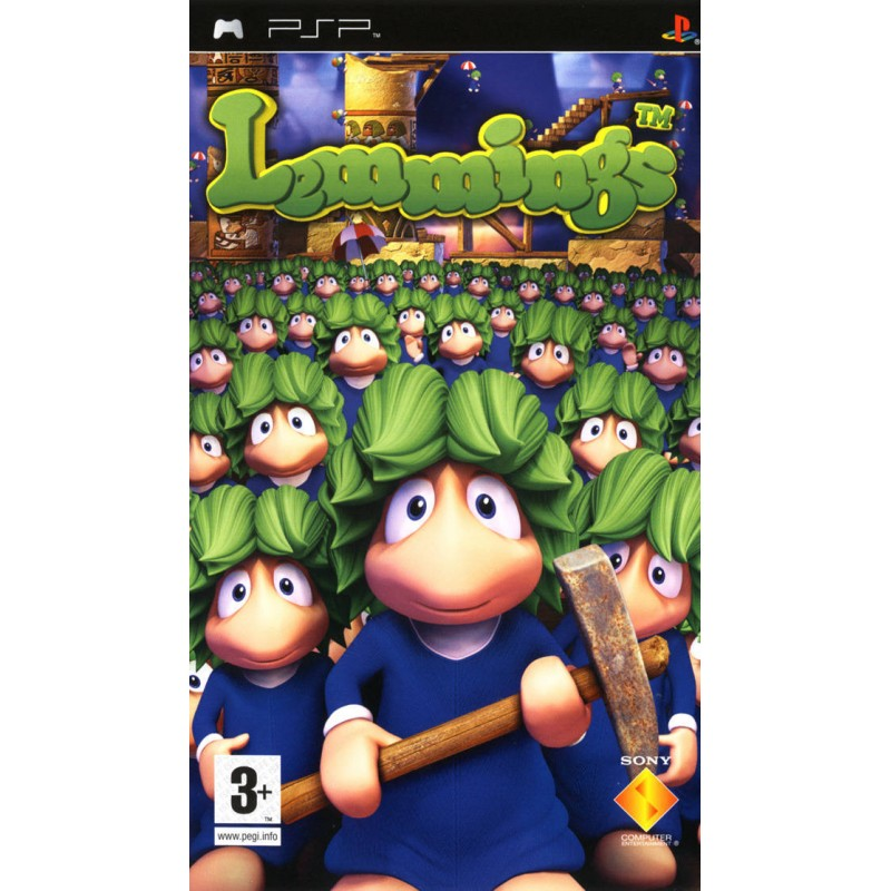 PSP LEMMINGS - Jeux PSP au prix de 5,95€