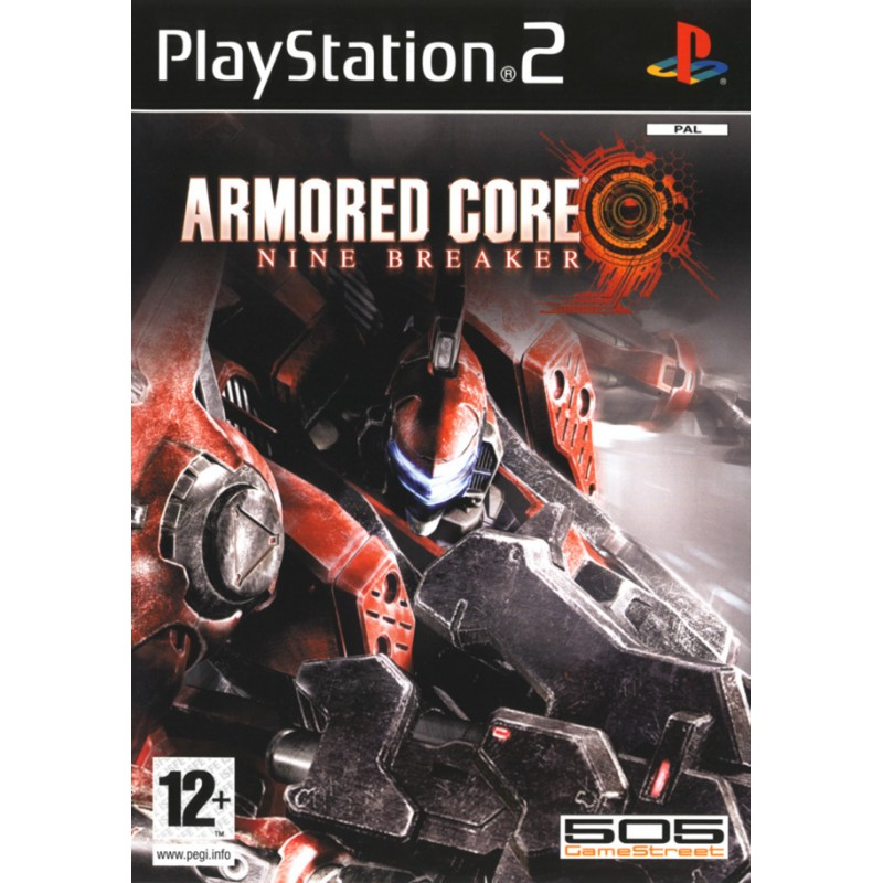 PS2 ARMORED CORE NINE BREAKER - Jeux PS2 au prix de 11,95€