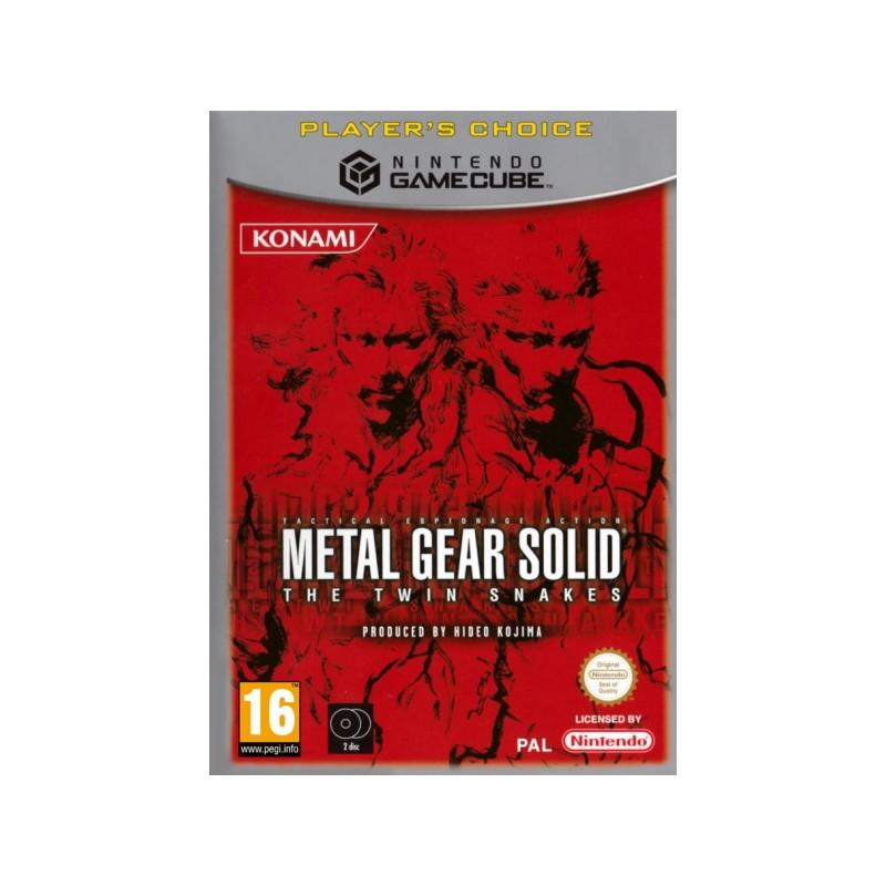 GC METAL GEAR SOLID THE TWIN SNAKES (LE CHOIX DU JOUEUR) - Jeux GameCube au prix de 49,95€