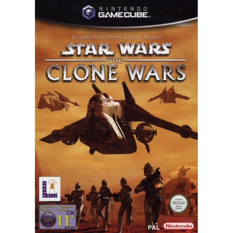 GC STAR WARS THE CLONE WARS - Jeux GameCube au prix de 14,95€