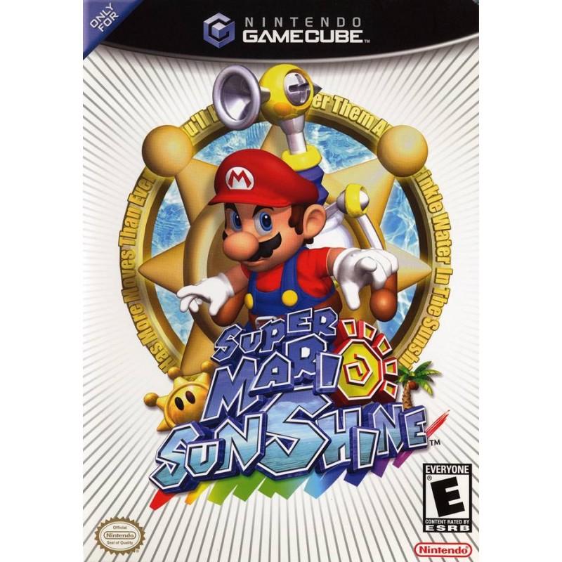 GC SUPER MARIO SUNSHINE (SANS NOTICE) - Jeux GameCube au prix de 19,95€