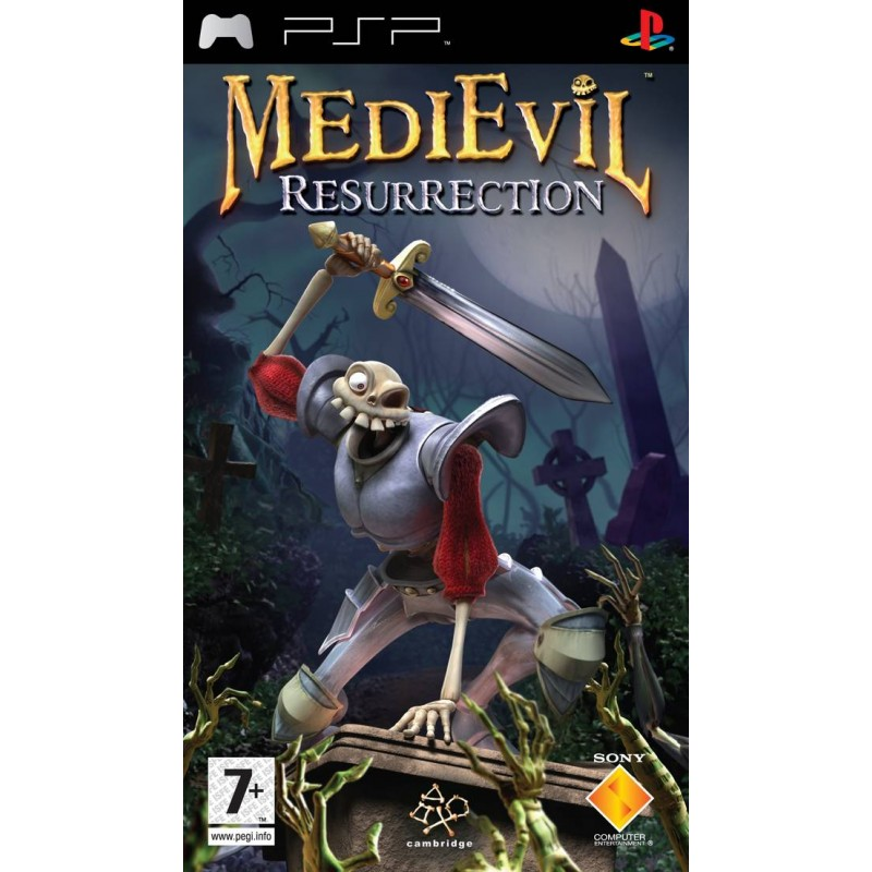 PSP MEDIEVIL RESURRECTION - Jeux PSP au prix de 6,95€