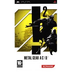 PSP METAL GEAR ACID 2 - Jeux PSP au prix de 5,95€