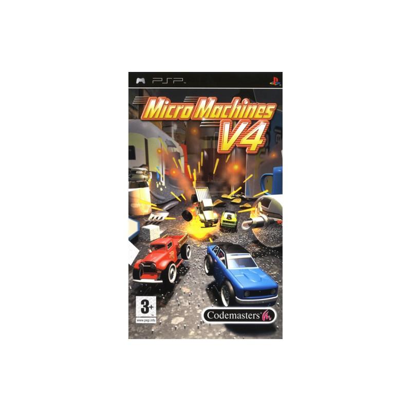 PSP MICROMACHINES V4 - Jeux PSP au prix de 7,95€
