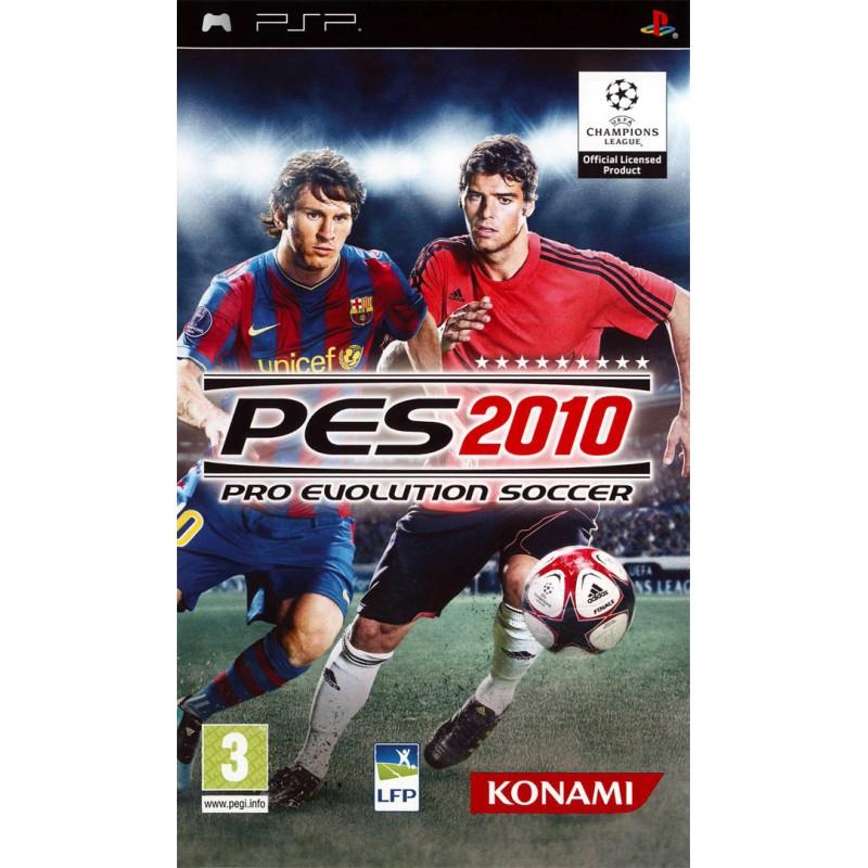 PSP PES 2010 - Jeux PSP au prix de 2,95€
