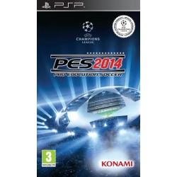 PSP PES 2014 - Jeux PSP au prix de 6,95€