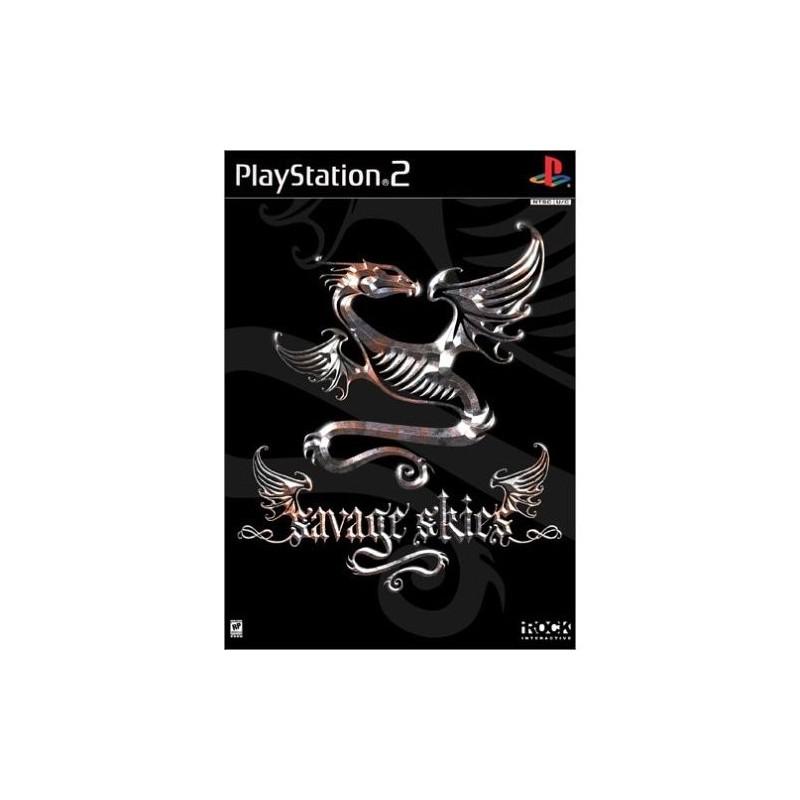 PS2 SAVAGE SKIES - Jeux PS2 au prix de 4,95€