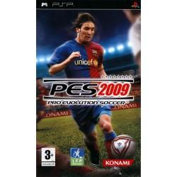 PSP PES 2009 - Jeux PSP au prix de 4,95€