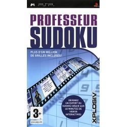 PSP PROFESSEUR SUDOKU - Jeux PSP au prix de 9,95€