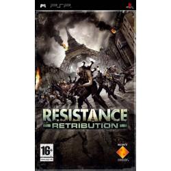 PSP RESISTANCE RETRIBUTION - Jeux PSP au prix de 4,95€