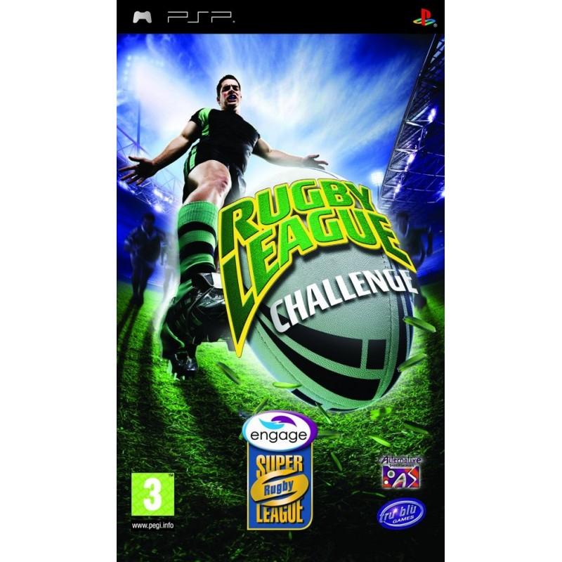 PSP RUGBY LEAGUE CHALLENGE - Jeux PSP au prix de 6,95€