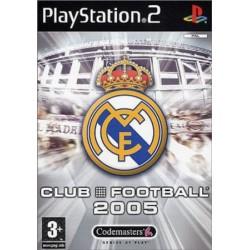 PS2 CLUB FOOTBALL 05 REAL MADRID - Jeux PS2 au prix de 9,95€