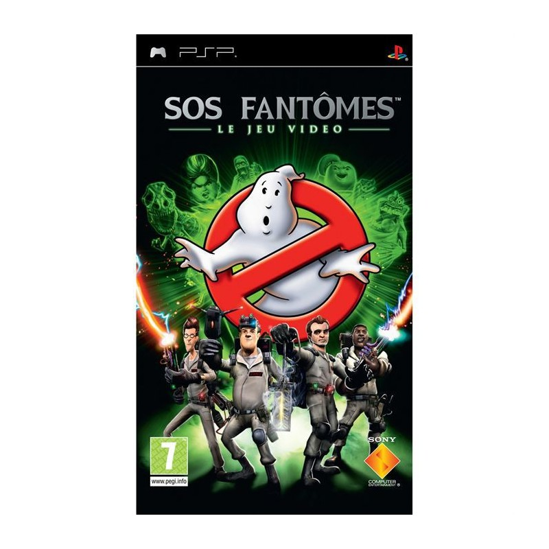PSP SOS FANTOMES - Jeux PSP au prix de 6,95€